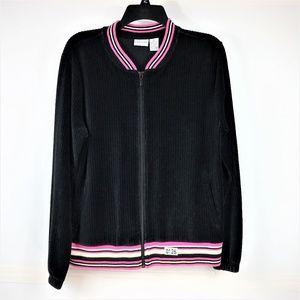 Kim Rogers Women's Zippered Front Jacket Size XL
